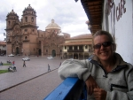 Theresa at Cusco